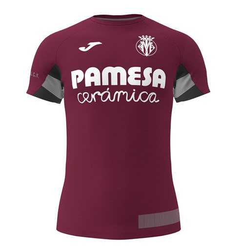 2019-2020 Villarreal Joma Training Shirt (Maroon)