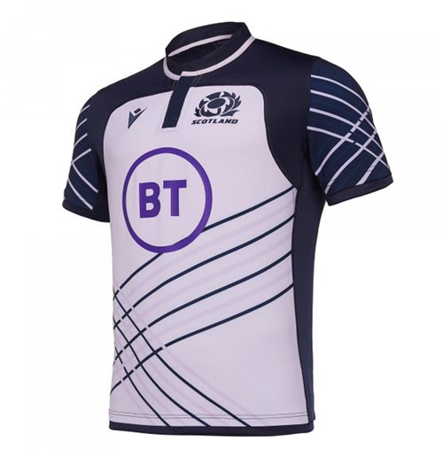 2019-2020 Scotland Macron Rugby Training Jersey (Heather)