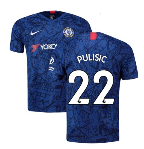 2019-20 Chelsea Home Shirt (Pulisic 22) - Kids