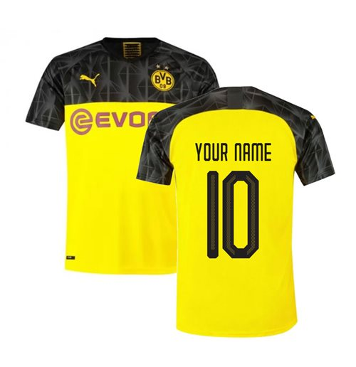 2019-2020 Borussia Dortmund UCL Home Puma Shirt (Kids) (Your Name)