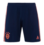 2019-2020 Bayern Munich Adidas Third Shorts (Navy)