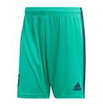 2019-2020 Real Madrid Adidas Third Shorts (Green) - Kids
