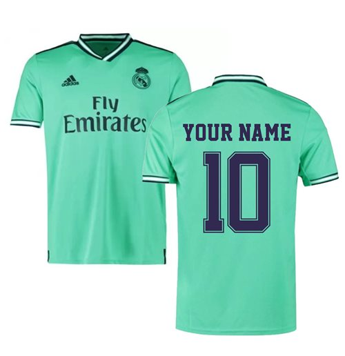 2019-2020 Real Madrid Adidas Third Shirt (Kids) (Your Name)