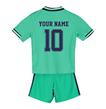 2019-2020 Real Madrid Adidas Third Mini Kit (Your Name)