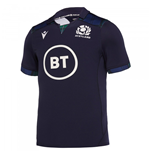 2019-2020 Scotland Home Authentic Pro Body Fit Rugby Shirt