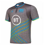 2019-2020 Scotland Macron Rugby Training Jersey (Grey)