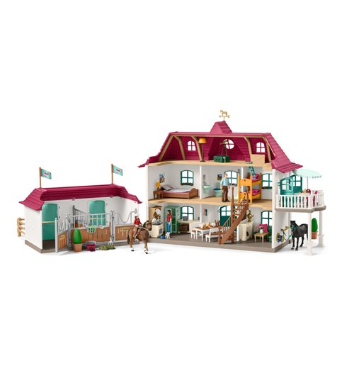 SCHLEICH Horse Club Large Horse Stable with House and Stable