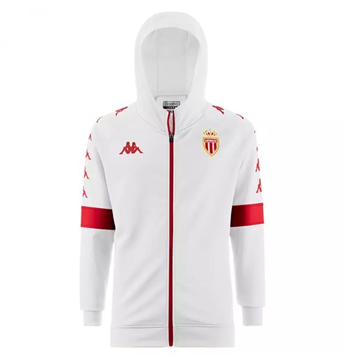 2019-2020 Monaco Hooded Jacket (White)