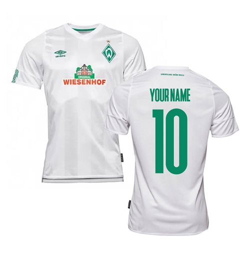 2019-2020 Werder Bremen Away Football Shirt (Your Name)
