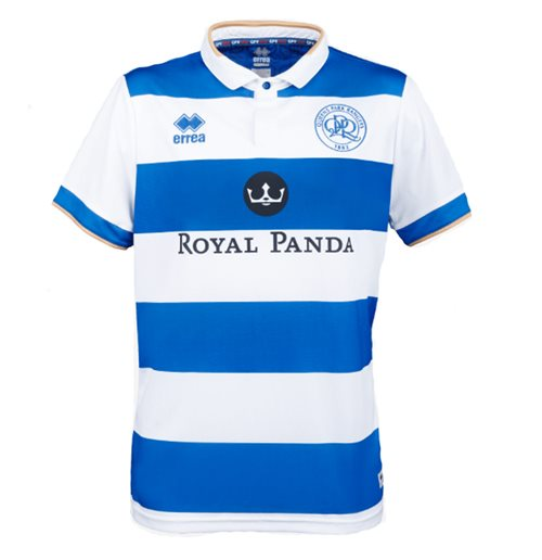 2019-2020 QPR Errea Home Football Shirt