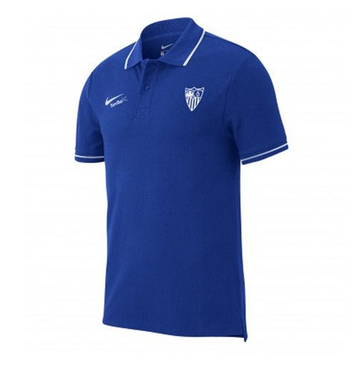 2019-2020 Seville Nike Authentic Grand Slam Polo Shirt (Blue)