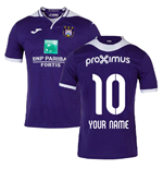 2019-2020 Anderlecht Joma Home Football Shirt (Your Name)