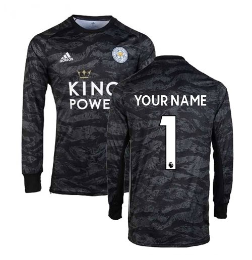 2019-2020 Leicester City Home Goalkeeper Shirt (Kids) (Your Name)