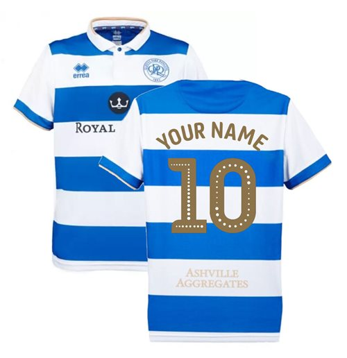 2019-2020 QPR Errea Home Football Shirt (Your Name)