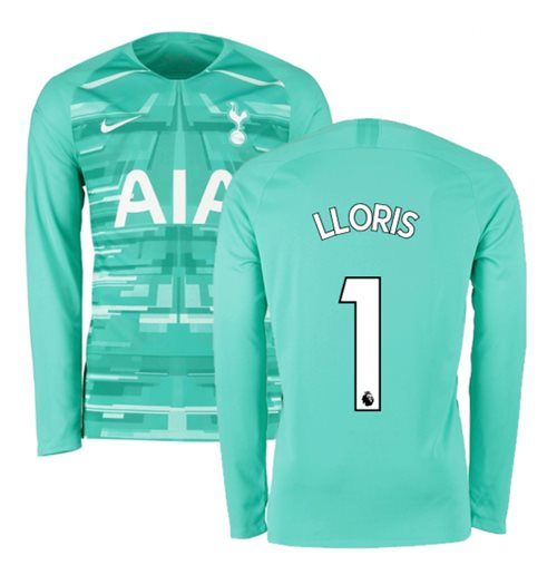 2019-2020 Tottenham Home Nike Goalkeeper Shirt (Hyper Jade) - Kids (LLORIS 1)