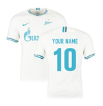 2019-2020 Zenit Away Nike Football Shirt (Your Name)