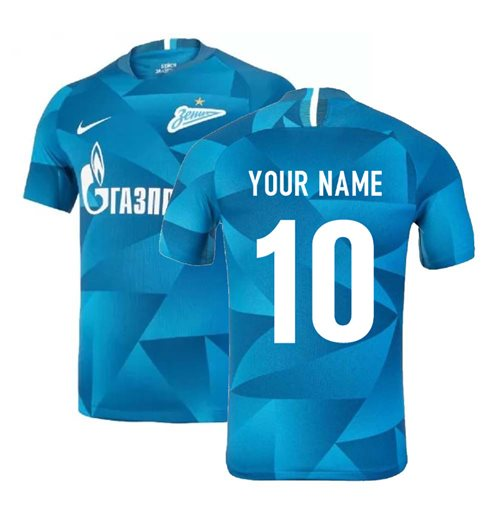 2019-2020 Zenit Home Shirt (Your Name)