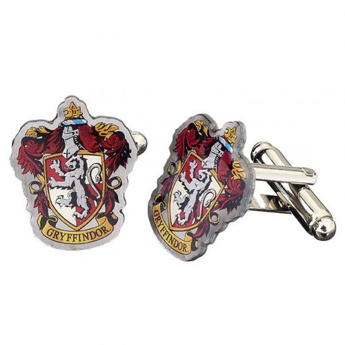Harry Potter Silver Plated Cufflinks Gryffindor