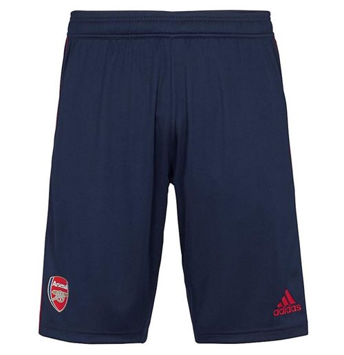 2019-2020 Arsenal Adidas Training Shorts (Navy) - Kids