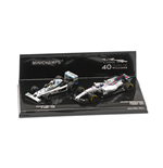 SET WILLIAMS FW06 JONES 1978 & WILLIAMS FW40 MASSA 2017 40TH ANNIVERSARY