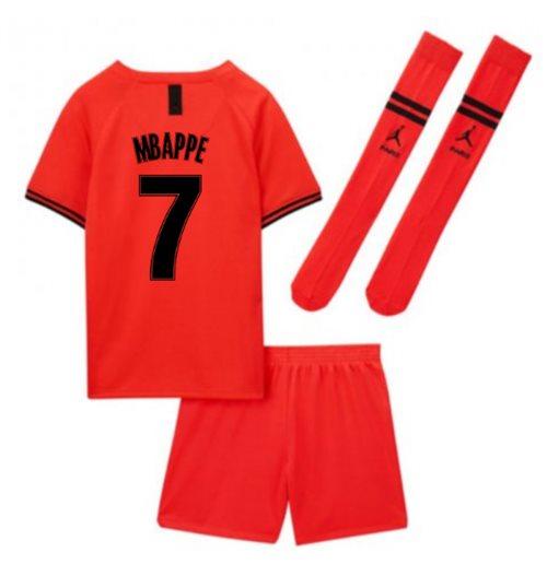 online store f08a3 77f52 2019-2020 PSG Away Nike Little Boys Mini Kit (MBAPPE 7)