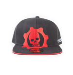 Gears Of War 5 - Red Helmet Snapback Cap