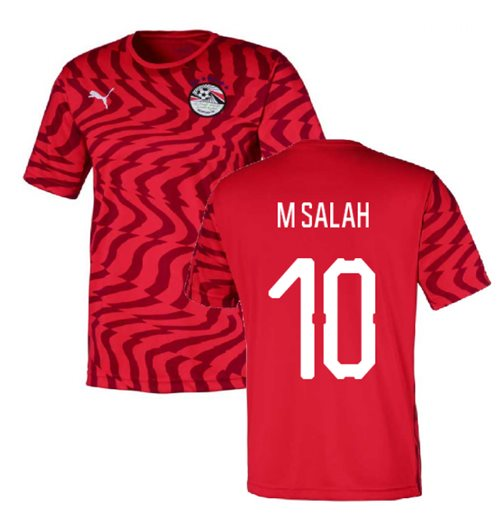 2019-2020 Egypt Home Puma Football Shirt (M Salah 10)