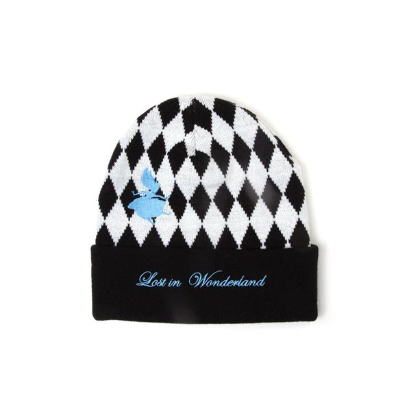 Disney - Alice In Wonderland Checkered Beanie