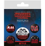 Stranger Things - Characters Badge Pack Badges