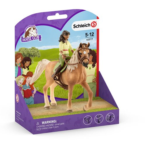 SCHLEICH Horse Club Sarah & Mystery Toy Figure