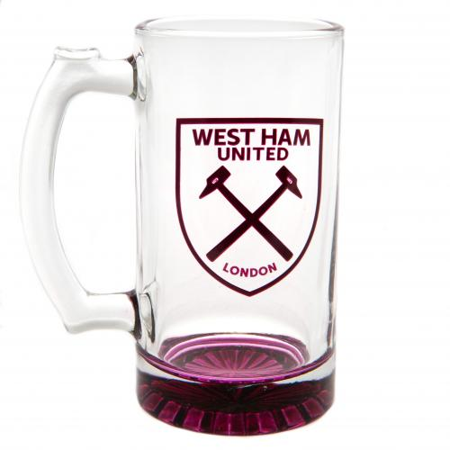 West Ham United F.C. Stein Glass Tankard
