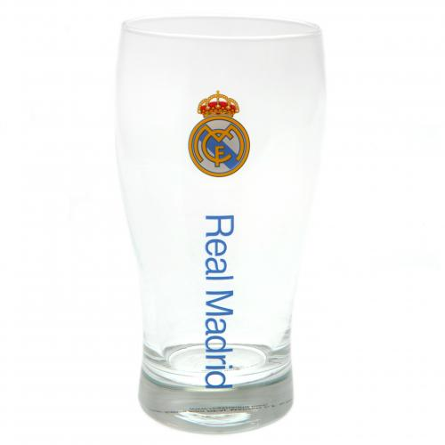 Real Madrid F.C. Tulip Pint Glass