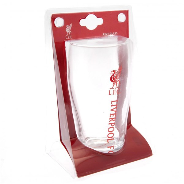 Liverpool F.C. Tulip Pint Glass