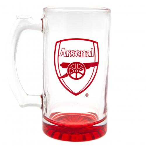 Arsenal F.C. Stein Glass Tankard