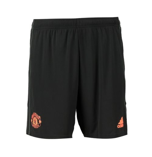 2019-2020 Man Utd Adidas Third Shorts (Black)