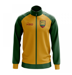 Lithuania Concept Football Track Jacket (Yellow)