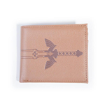 NINTENDO Legend of Zelda Sword Bi-fold Wallet, Male, Brown