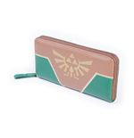 NINTENDO Legend of Zelda Gold Hyrule Zip Around Purse, Female, Multi-colour