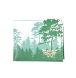 NINTENDO Legend of Zelda Forrest Bi-fold Wallet, Male, Multi-colour