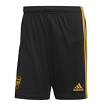 2019-2020 Arsenal Adidas Third Shorts Black (Kids)