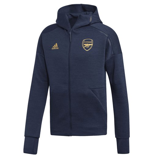 2019-2020 Arsenal Adidas ZNE 3.0 Anthem Jacket (Navy)
