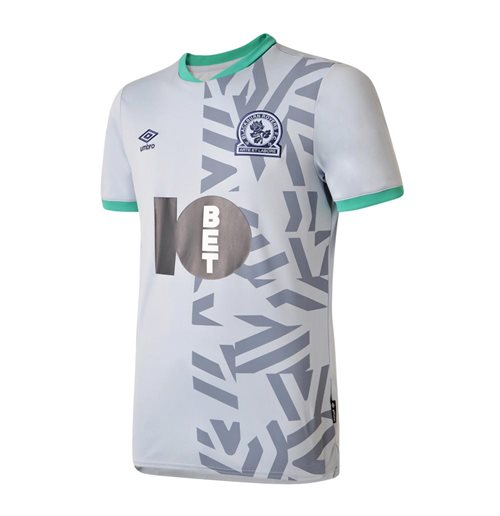 2019-2020 Blackburn Rovers Umbro Away Football Shirt