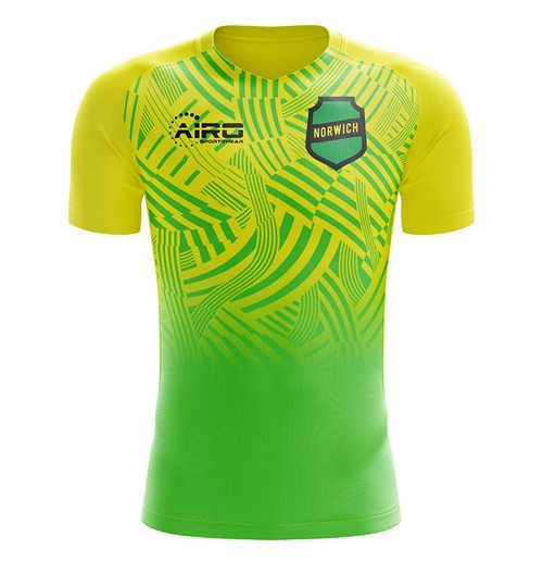 2019-2020 Norwich Home Concept Football Shirt - Little Boys