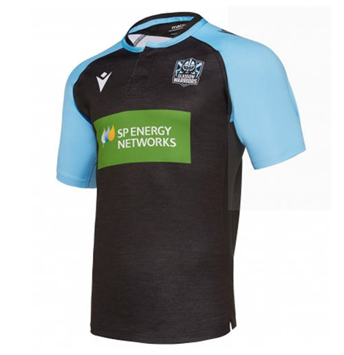 2019-2020 Glasgow Warriors Rugby Training Jersey (Black)