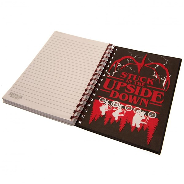 Stranger Things 3D Notebook