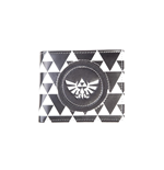 The Legend of Zelda Wallet Triforce Black & White