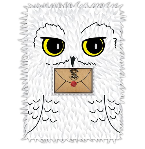 Harry Potter Notebook A5 Hedwig