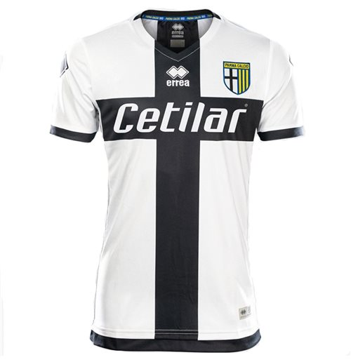 2019-2020 Parma Errea Home Football Shirt (Kids)