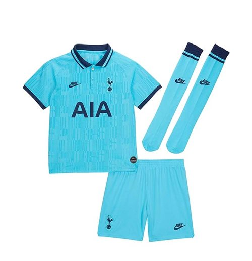 2019-2020 Tottenham Third Nike Little Boys Mini Kit