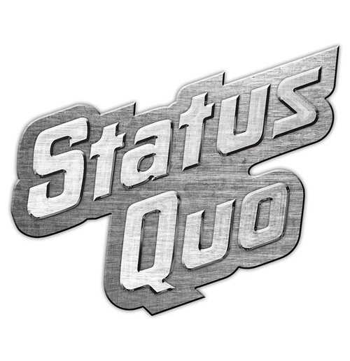 Status Quo Pin Badge: Logo (Retail Pack)